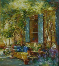 Johan Messely 1927   Belgian painter   The Secret Gardens   Tutt'Art@   Pittura * Scultura * Poesia * Musica  
