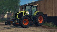 CLAAS Axion 950 by Smety v2.0 - http://fs15world.com/tractors/claas-axion-950-by-smety-mod