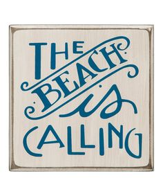 If there was ever a day that this was true... it's today, but I will be more specific and say a warm beach is calling! :) Wood Home Decor, Beach House Decor, Wall Decor, Beach Condo, Coastal Style, Coastal Living, Coastal Decor, Beach Signs Wooden, Beachy Signs