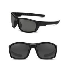 902a478a1e Under Armour Polarized Sunglasses UA Ranger Storm Men s Black Frame Gray  Lens  UnderArmour  Sport