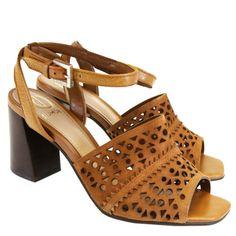 Sandália Castanho 4113138 Dumond by Moselle | Moselle sapatos finos femininos! Moselle sua boutique online.