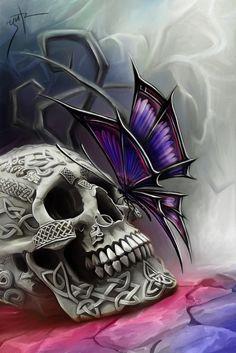 Butterfly of Death by ~LimonTea on deviantART