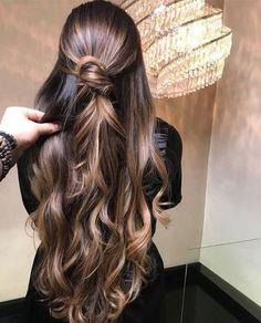 Cabelo penteado