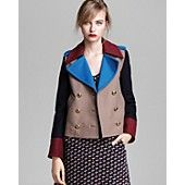MARC BY MARC JACOBS Jacket - Nicoletta Color Block Wool