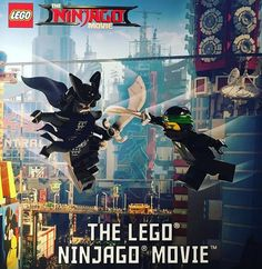The LEGO Ninjago Movie : Trailer, sets, minifigs, ça commence bientôt...: L'autre film LEGO de 2017, c'est celui basé sur l'univers… #LEGO
