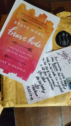 Apart of the Launch Team for this amazing book #BraveMomsBraveKids by @leenienhuis I can not wait to share more as I read #EverydayBrave