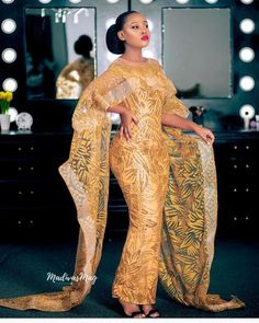 Top Classic Aso Ebi styles 2018 Source by janiceduboise Aso Ebi Lace Styles, Lace Gown Styles, Latest Aso Ebi Styles, African Inspired Fashion, African Print Fashion, African Fashion Dresses, Fashion Outfits, Ankara Fashion, African Prints