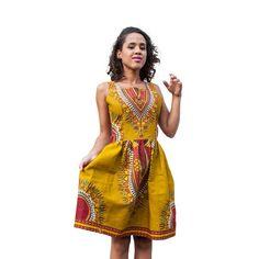 Sexy Woman African Print Dresses Vestidos White Sundress Sleeveless Ladies Office Dress Elegant Summer Women Dashiki Dress