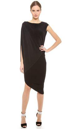 Kaufman Franco Asymmetrical Dress