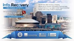 GSA Certified InfoRecovery LLC provides affordable, professional data recovery, data forensics, hard drive recovery, RAID data recovery services in New Orleans, LA. #DataRecovery #DataLoss #HardDriveRecovery #RaidRecovery http://www.inforecovery.com/data-recovery-new-orleans