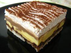 Tento recept obľubujú hlavne moje deti a vždy zmizne skoro z chladničky Slovak Recipes, Czech Recipes, Russian Recipes, Sweets Cake, Love Cake, Sweet And Salty, Desert Recipes, Amazing Cakes, Sweet Recipes