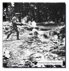 Einsatzgruppen Nazi exterminators... killers of millions... men women & children