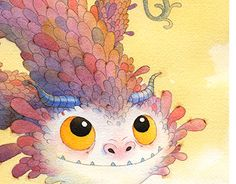 """Check out new work on my @Behance portfolio: """"Book and the Dragon""""…"""