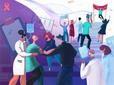 World Cancer Day Illustration