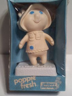 Vintage Blue White Pillsbury Doughboy Poppie Fresh.  Have a couple of her.