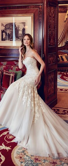 Fantastic Tulle Sweetheart Neckline Natural Waistline Mermaid Wedding Dress With Beaded Lace Appliques