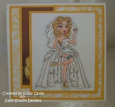 Stamping Tink: Dare To Be Sassy at Sassy Studio Designs - Going Green