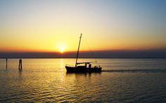 Sonnenuntergang an der Adria © Elisabeth Hotter