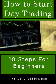 Learn how to start day trading for beginners with these 10 detailed steps. Find out where to start and how to become a successful day trader. Stock Market Investing, Investing In Stocks, Investing Money, Saving Money, Saving Tips, Stocks For Beginners, Stock Market For Beginners, Blockchain, Analyse Technique