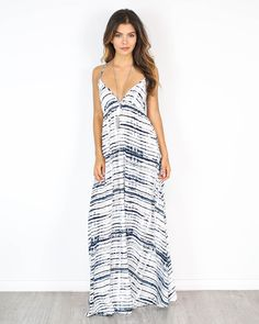 Hadid Halter Maxi Dress