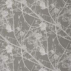 Birch - Smoke fabric, from the Ellery collection by Ashley Wilde Window Coverings, Birch, Exotic, Finding Yourself, Interior Decorating, Wallpaper, Flowers, Projects, Crafts