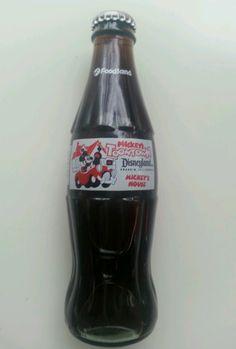 GEORGIA 1992 gd.1 Atlanta DIET COCA-COLA MICKEY/'S TOONTOWN Soda CAN Disneyland
