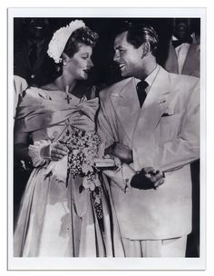 If you were born in 1949, that year Lucy and Desi Arnaz renewed their wedding vows and fans finally had real photos of a Lucy/Desi wedding and not just some photos of a movie wedding!