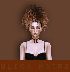 UliKa: Hair converted 2 for Sims 4 Afro Hair Sims 4 Cc, Sims 4 Curly Hair, Sims Hair, Curly Hair Styles, Los Sims 4 Mods, Sims 4 Game Mods, Sims 4 Cc Skin, Sims Cc, Sims 4 Black Hair