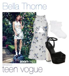 """""""Steal her style: Bella Thorne"""" by ilikeplacki ❤ liked on Polyvore"""
