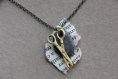 Rock Paper Scissor Necklace