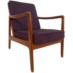 Ole Wanscher for John Stuart Lounge Chair