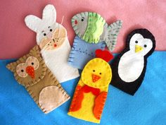 more animal finger puppets