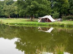 Kamperen - Hoeve Springendal Glamping, Holland, Tent, Golf Courses, Cabin, World, House Styles, Water, Traveling