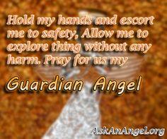 Pray for us my #GuardianAngel. Follow us on IG @ askanangel1 or Visit AskAnAngel.org