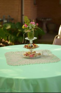 Doilies are perfect for a tea party!