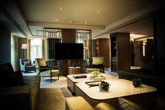 André Fu: The Berkeley Opus Suite, London - Billionaire Home Living Room, Living Area, Berkeley Hotel, Commercial, Hospitality Design, Guest Suite, Interior Design Living Room, Interior Inspiration, Interior Architecture