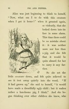 alice in wonderland book pages - Google Search