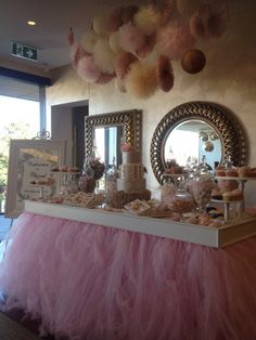 Chanel's Cake & Sweet table...