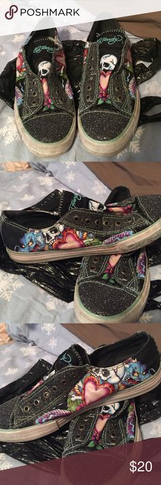 Ed hardy Sneakers Comes from a clean and smoke/ pet free home Ed Hardy Shoes