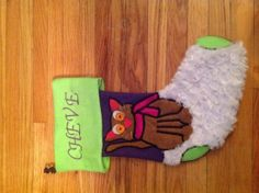 Cute Kitty Christmas stockings! Love it! Perfect for any pet.