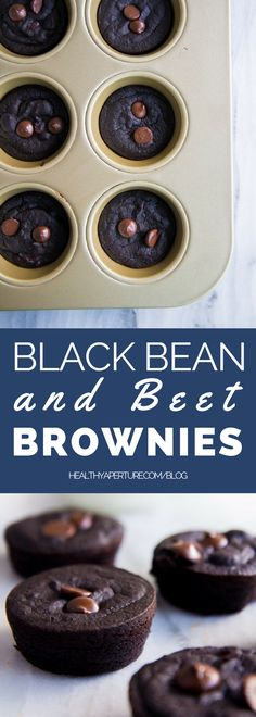 Fudgy and fiber-filled, these black bean brownies also sneak in a healthy veggie punch using beets.