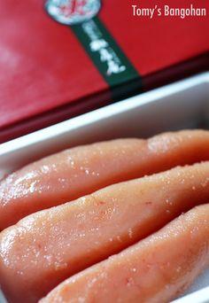 Photo: Japanese Spicy Cod Roe, Marinated Pollock Fish Eggs | Karashi-Mentaiko からし明太子
