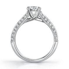 solitaire wedding rings | 18k Gold 2ct TDW EGL Diamond Engagement Ring « Wedding Fashion