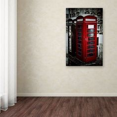 Trademark Fine Art Phone Home Canvas Art by Erik Brede, Size: 12 x 19, Multicolor