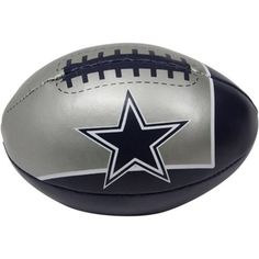 Dallas Cowboys Quick Toss NFL Softee Football by Fotoball, http://www.amazon.com/dp/B005Y5FBKA/ref=cm_sw_r_pi_dp_-Igusb1D70E1Z/186-2106684-3804767