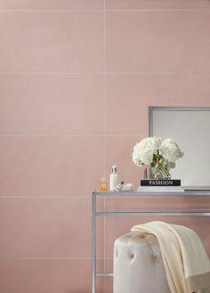 Trending Now: Blush - The Tile Shop Blog Blush Bathroom, Schedule Design, Pink Tiles, The Tile Shop, Ceramic Wall Tiles, Style Tile, Trending Now, Kitchen Tiles, Interior Design