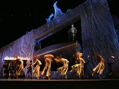 Grendel. The Los Angeles Opera, Lincoln Center Festival. Scenic design by George Tsypin.