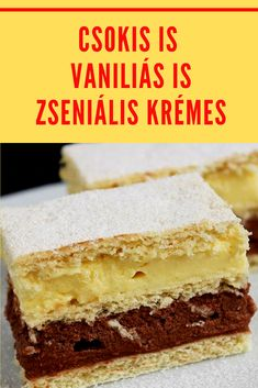 Kaja, Cake Cookies, Vanilla Cake, Dessert Recipes, Food And Drink, Sweet, Vanilla Sponge Cake, Candy, Desert Recipes