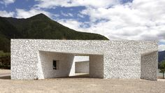 'niyang river visitor center' by standardarchitecture, linzhi, tibet