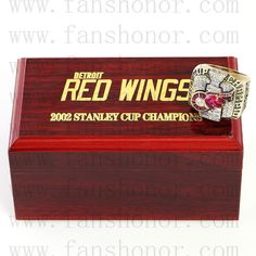 Custom NHL 2002 Detroit Red Wings Stanley Cup Championship Ring Click Bio to Buy #detroitredwings #redwings #redwingsgame #redwingsfan #redwingshockey #NHL #stanleycup #hockey #nhlplayoffs #stanleycupplayoffs #icehockey #nhl16 #hockeylife #hockeygame #stanleycupchampions #championshipring